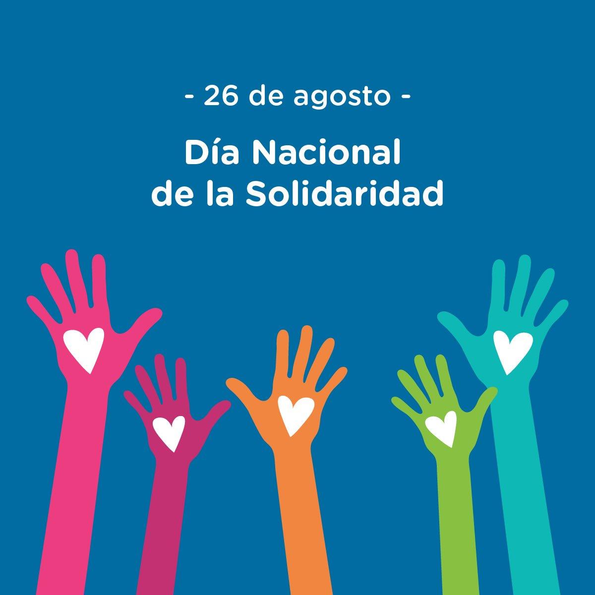 26 de agosto, día de la solidaridad