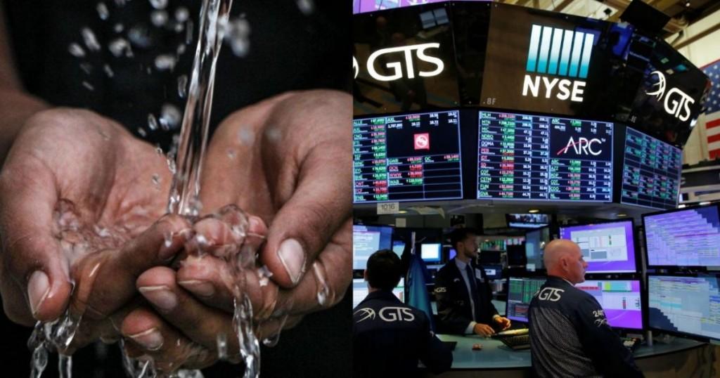 El agua ya cotiza en el mercado de futuros de Wall Street…