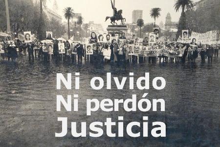 La democracia se construye con verdad y con justicia (Argentina)